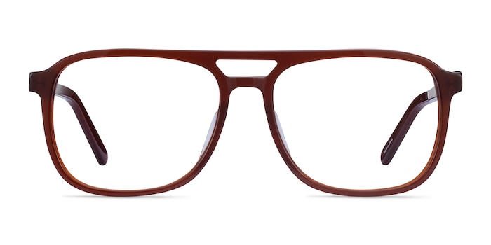 Russell Brown Acetate Eyeglass Frames from EyeBuyDirect