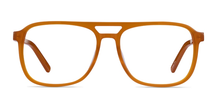 Russell Mellow Yellow Acetate Eyeglass Frames from EyeBuyDirect