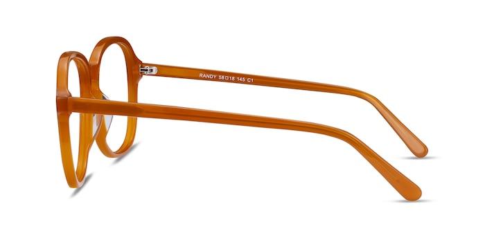 Randy Mellow Yellow Acetate Eyeglass Frames from EyeBuyDirect