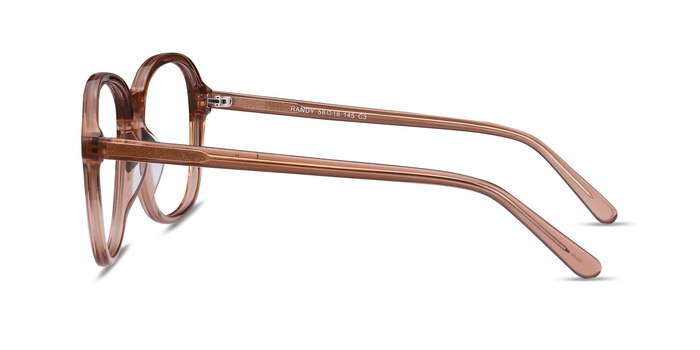 Randy Brown Acetate Eyeglass Frames from EyeBuyDirect