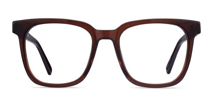 Kenneth Coffee Acetate Eyeglass Frames from EyeBuyDirect