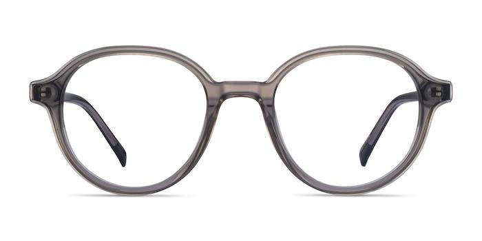 Satisfy Clear Gray Acétate Montures de Lunette de vue d'EyeBuyDirect