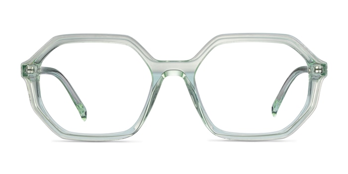 Dream Clear Green Acetate Eyeglass Frames from EyeBuyDirect