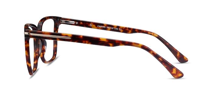 Canvas Tortoise Acetate Eyeglass Frames from EyeBuyDirect