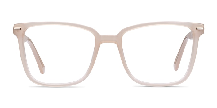 Canvas Beige Acetate Eyeglass Frames from EyeBuyDirect