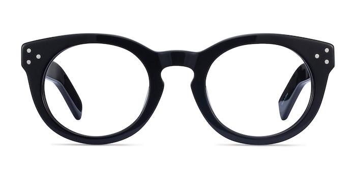 Morla Black Acetate Eyeglass Frames from EyeBuyDirect