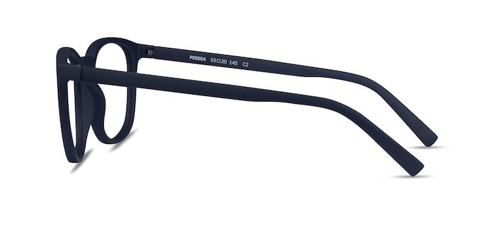 Persea Abyssal Blue Plastic Eyeglass Frames from EyeBuyDirect
