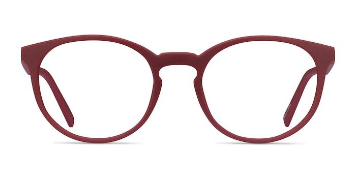 Citrus Crimson Plastic Eyeglass Frames from EyeBuyDirect
