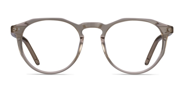 Planete Champagne Acetate Eyeglass Frames from EyeBuyDirect