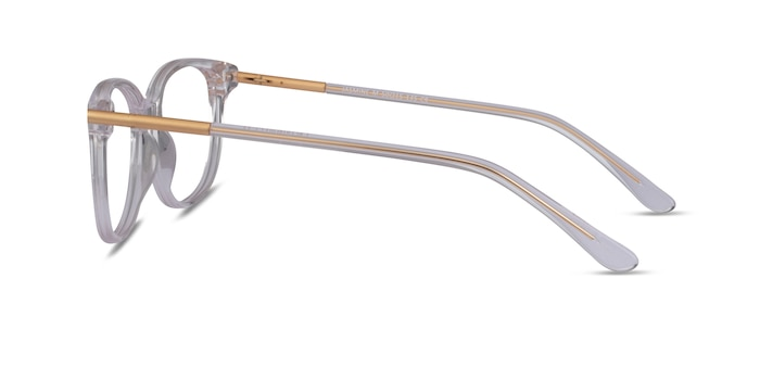 Jasmine Clear Acetate Eyeglass Frames from EyeBuyDirect