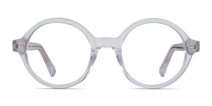 Groove Clear Acetate Eyeglass Frames from EyeBuyDirect