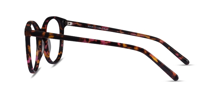 Noun Pink Tortoise Acetate Eyeglass Frames from EyeBuyDirect