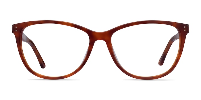 Solitaire Tortoise Acetate Eyeglass Frames from EyeBuyDirect