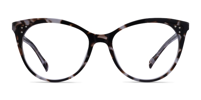 Bijou Tortoise Acetate Eyeglass Frames from EyeBuyDirect
