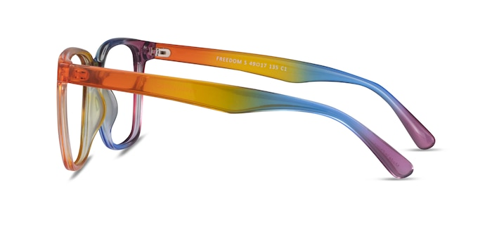 Freedom Rainbow Plastic Eyeglass Frames from EyeBuyDirect