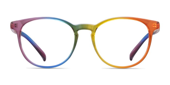 Rainbow Rainbow Plastic Eyeglass Frames from EyeBuyDirect