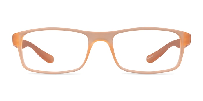 Over Light Orange Plastique Montures de Lunette de vue d'EyeBuyDirect