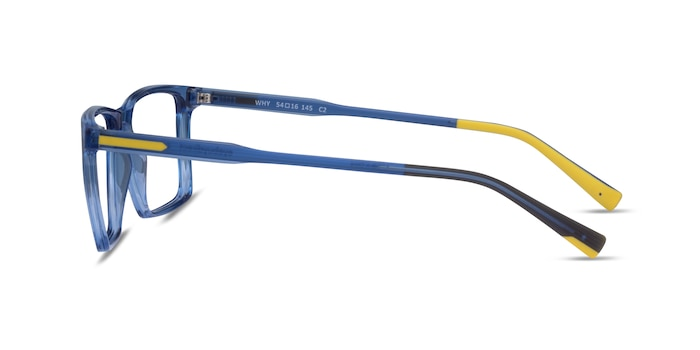 Why Blue Plastic Eyeglass Frames from EyeBuyDirect