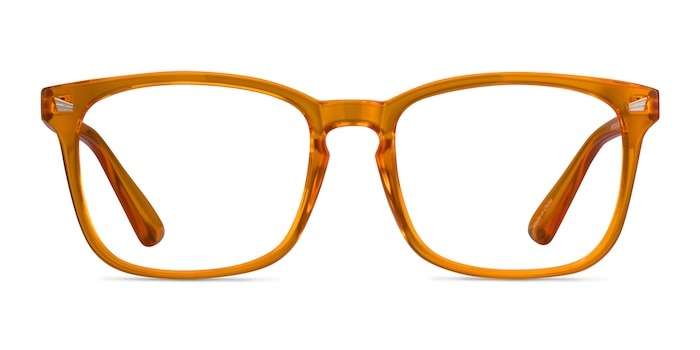 Hope Clear Orange Plastique Montures de Lunette de vue d'EyeBuyDirect