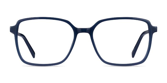 Nonchalance Bleu Acétate Montures de Lunette de vue d'EyeBuyDirect
