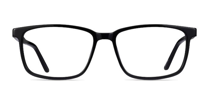 Shift Noir Acétate Montures de lunettes de vue d'EyeBuyDirect