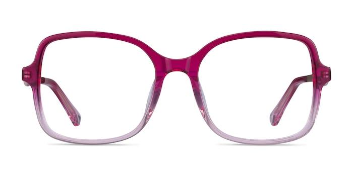 Clematis Clear Pink Acétate Montures de Lunette de vue d'EyeBuyDirect