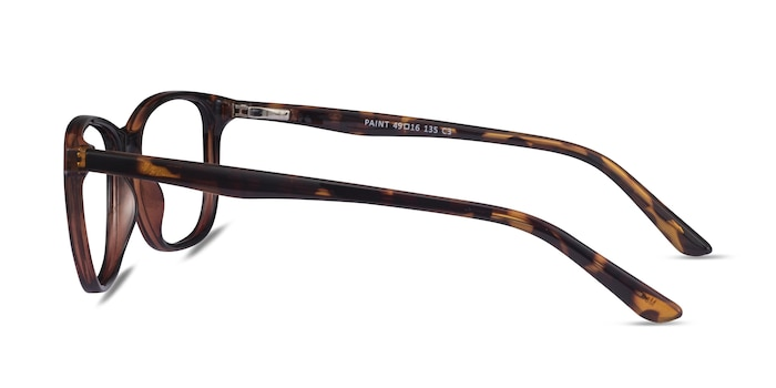 Paint Tortoise Plastic Eyeglass Frames from EyeBuyDirect