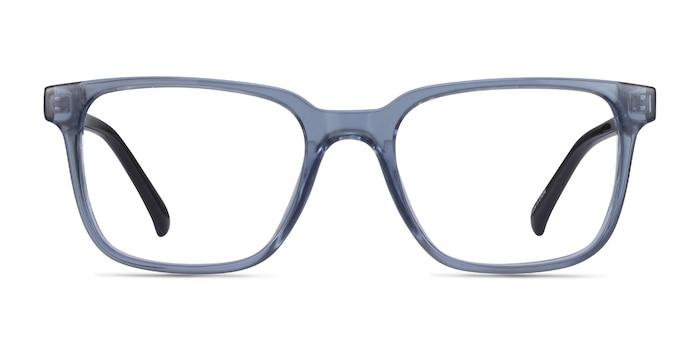 Boat Clear Blue Plastic Eyeglass Frames from EyeBuyDirect