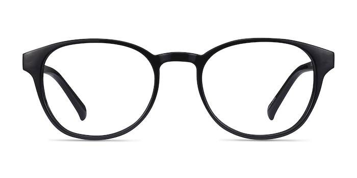 Cool Black Plastic Eyeglass Frames from EyeBuyDirect