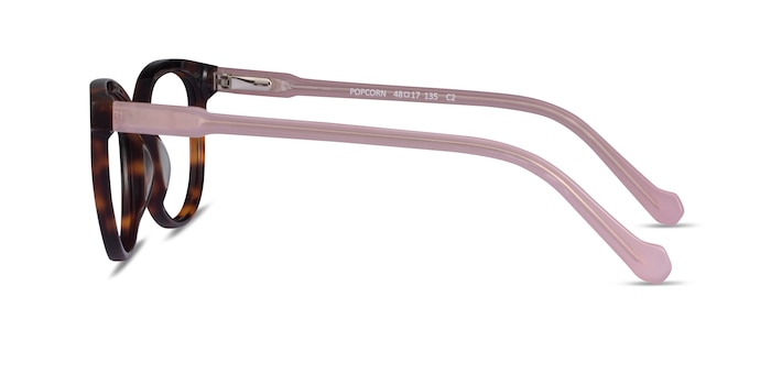 Popcorn Tortoise Pink Acetate Eyeglass Frames from EyeBuyDirect
