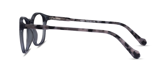 Skate Clear Gray Tortoise Acetate Eyeglass Frames from EyeBuyDirect