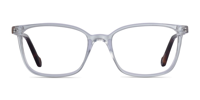 Travel Clear Tortoise Acetate Eyeglass Frames from EyeBuyDirect