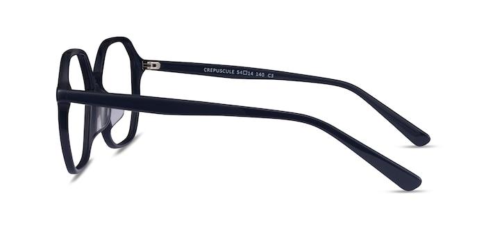 Crepuscule Bleu marine  Acétate Montures de Lunette de vue d'EyeBuyDirect