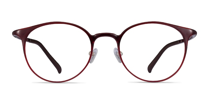 Solace Red Plastic Eyeglass Frames from EyeBuyDirect