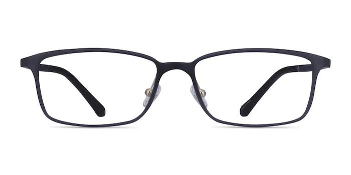 Modest Matte Gray Plastique Montures de lunettes de vue d'EyeBuyDirect
