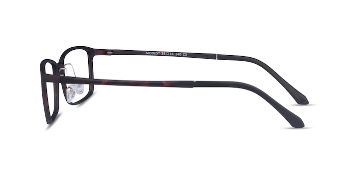 Modest Matte Tortoise Plastic Eyeglass Frames from EyeBuyDirect