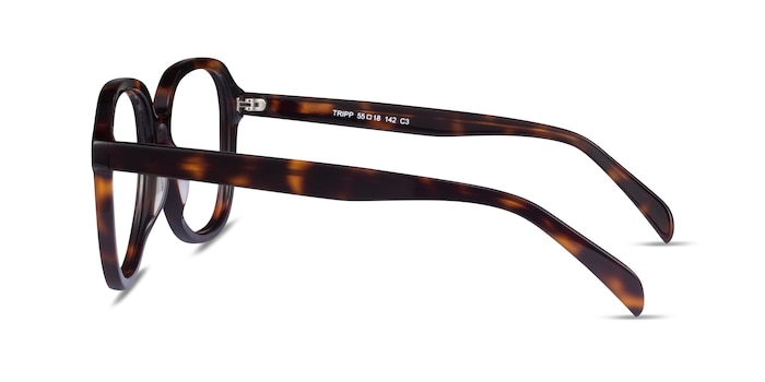 Tripp Tortoise Acetate Eyeglass Frames from EyeBuyDirect