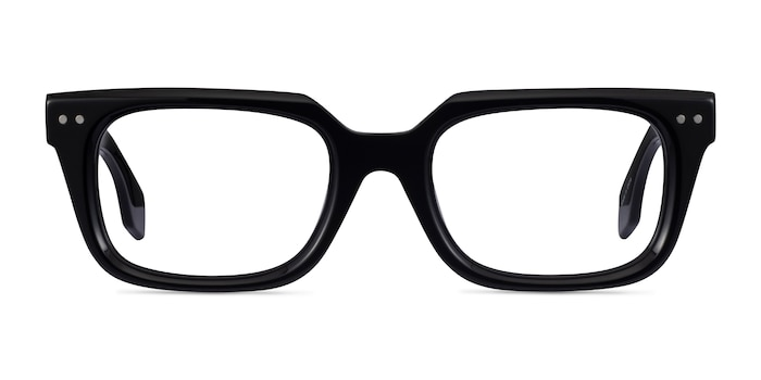 Kit Black Acetate Eyeglass Frames from EyeBuyDirect