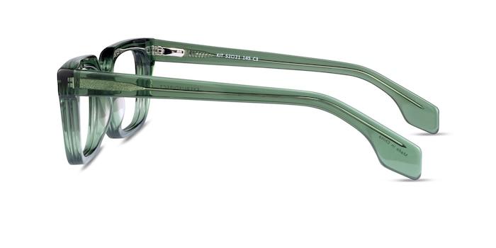 Kit Clear Green Acetate Eyeglass Frames from EyeBuyDirect