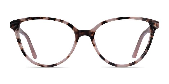 Wonder Ivory Tortoise Pink Acetate Eyeglass Frames from EyeBuyDirect
