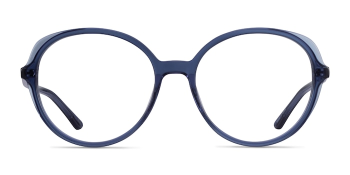 Pure Clear Blue Acetate Eyeglass Frames from EyeBuyDirect