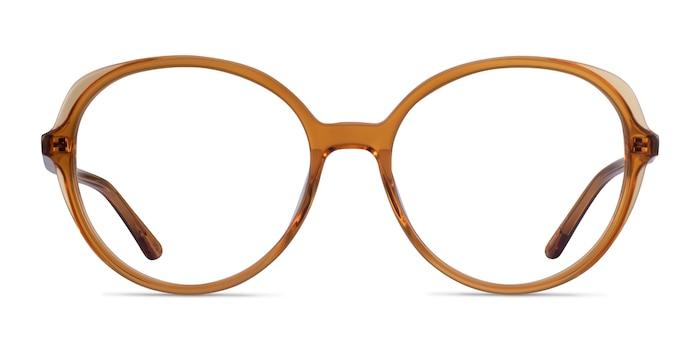 Pure Orange Acetate Eyeglass Frames from EyeBuyDirect