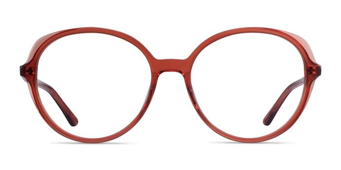 Pure Terracotta Acetate Eyeglass Frames from EyeBuyDirect