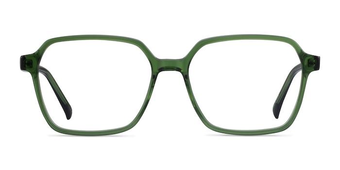 Bucolic Clear Green Acetate Eyeglass Frames from EyeBuyDirect
