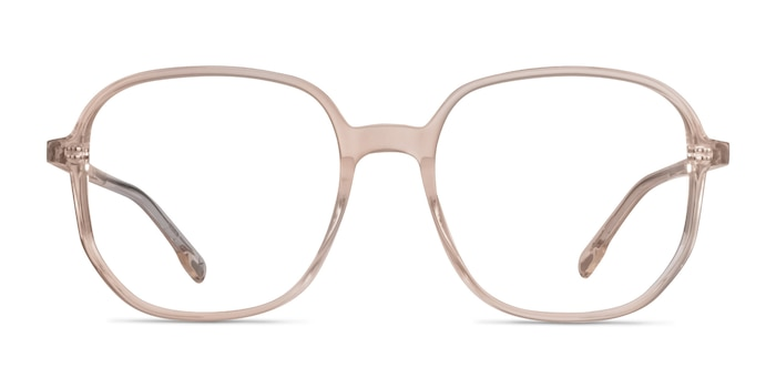 Natural Champagne Acetate Eyeglass Frames from EyeBuyDirect