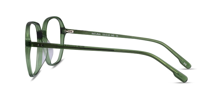 Natural Clear Green Acetate Eyeglass Frames from EyeBuyDirect