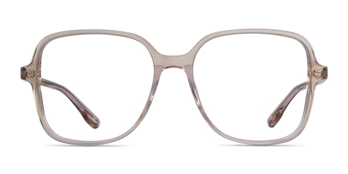 Bloom Champagne Acetate Eyeglass Frames from EyeBuyDirect