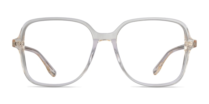 Bloom Clear Yellow Acetate Eyeglass Frames from EyeBuyDirect
