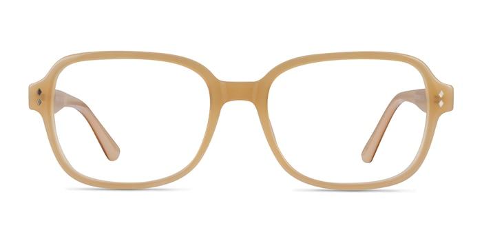 Patina Yellow Acetate Eyeglass Frames from EyeBuyDirect