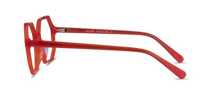 Glister Iridescent Red Acetate Eyeglass Frames from EyeBuyDirect